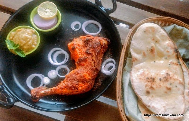 Robust Tandoori Chicken with Instant Naan
