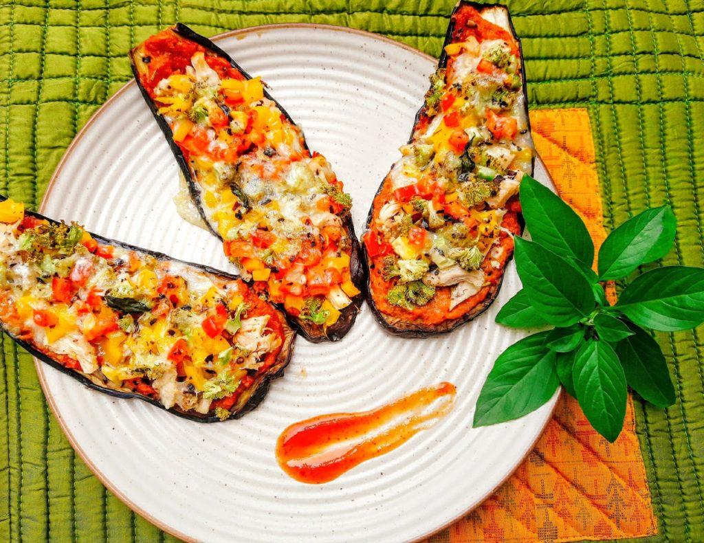Ubercool Eggplant Pizza | Keto Recipe