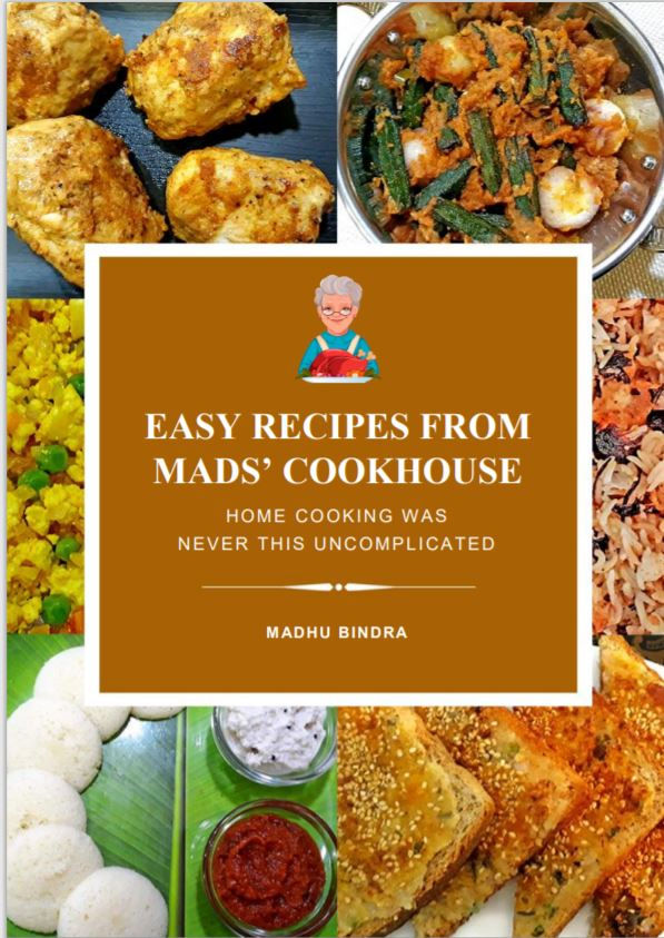 EASY RECIPES FROM MADS' COOKHOUSE | BOOK REVIEW