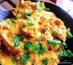 Bengali Chicken rezala