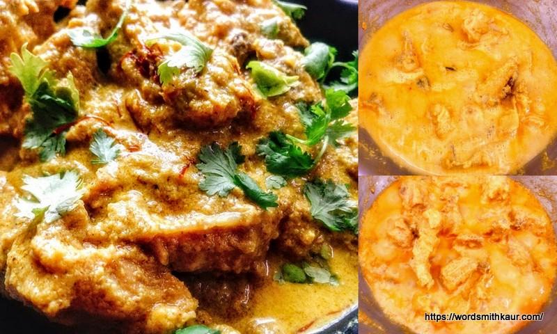 Bengali Chicken Rezala Recipe