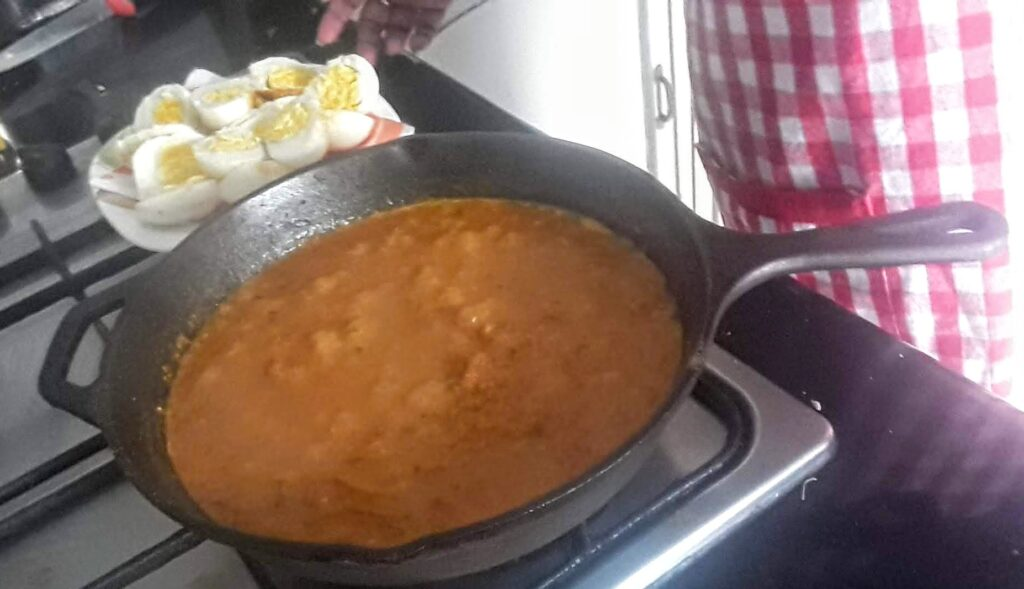 Creamy Egg Curry Gravy