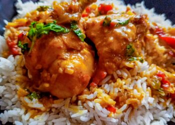 North Indian Chicken Curry  with a Twist
