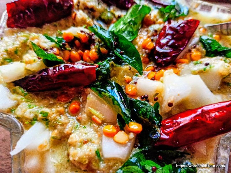 Andhra Dosakaya Pachadi Recipe