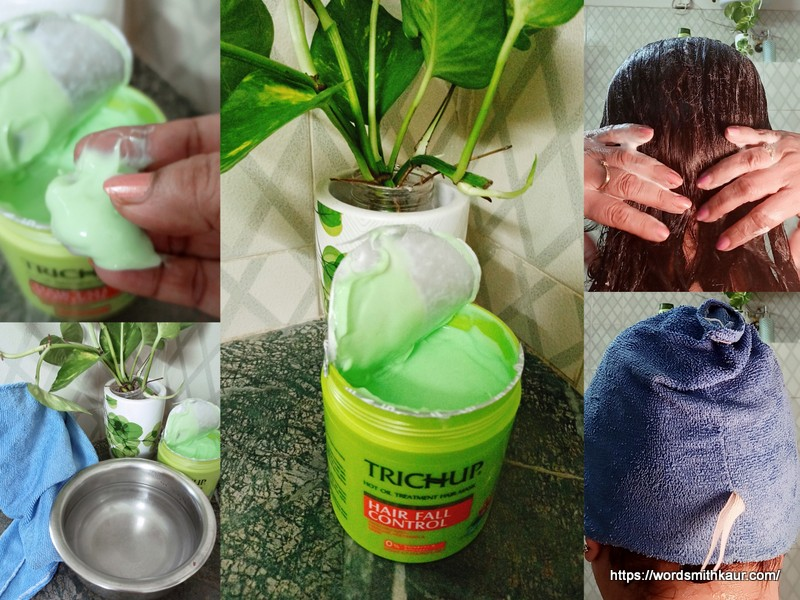 Trichup Hair Mask How to use