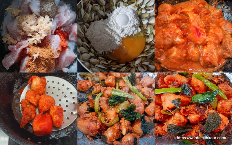 Andhra Style Chicken 65 Recipe