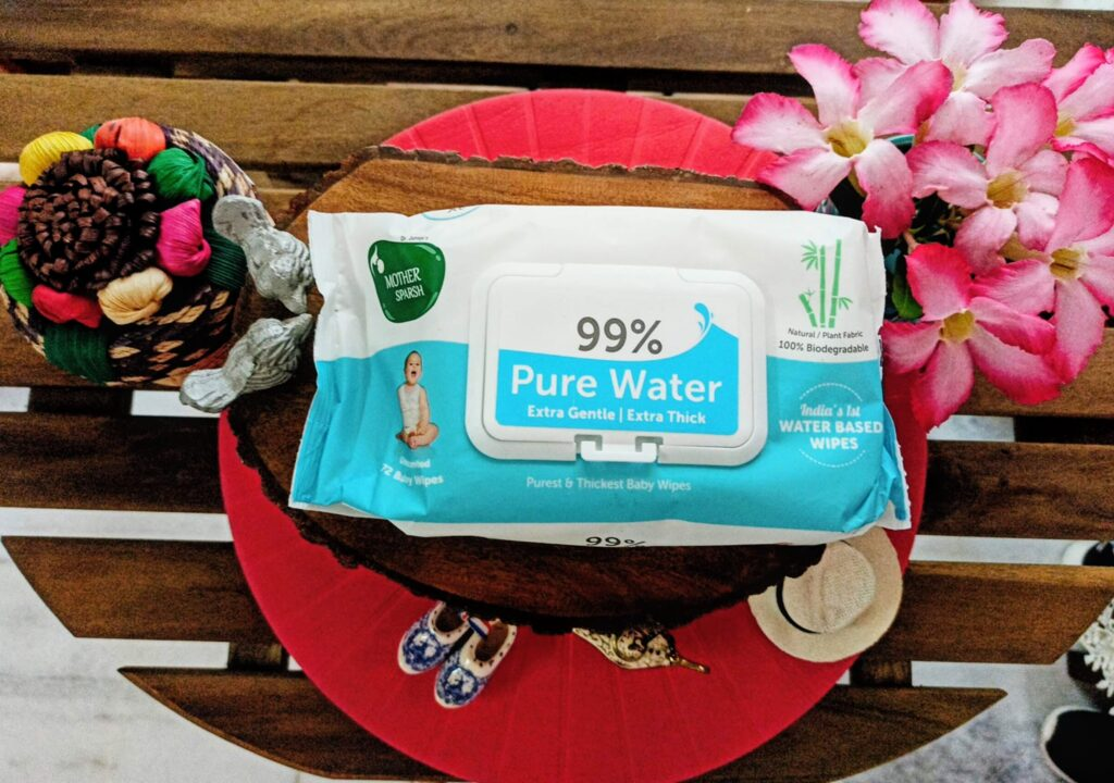 Mother Sparsh 99% Unscented Pure Water Baby Wipes Review