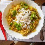 Maharashtrian Tendli Bhaat | Vegan Ivy Gourd Rice