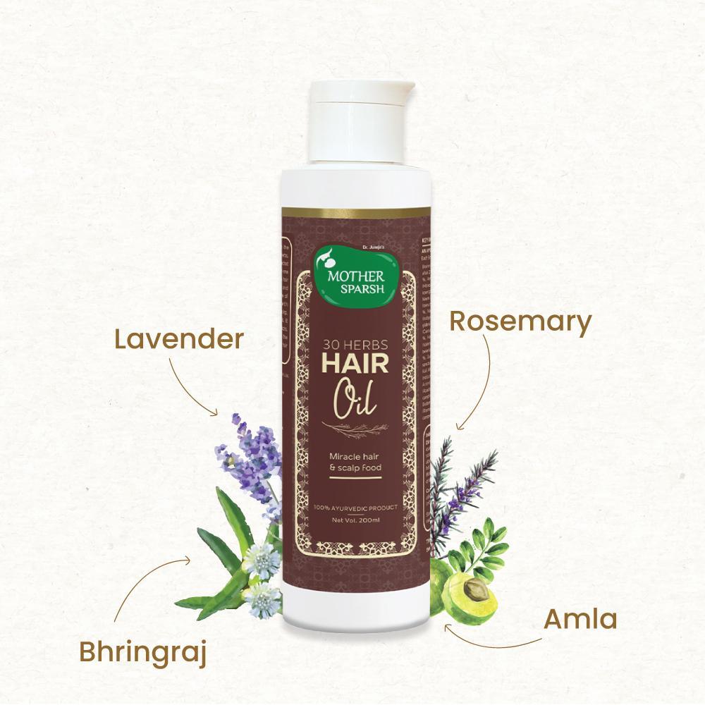 Mother sparsh 30 herbs Hair oil