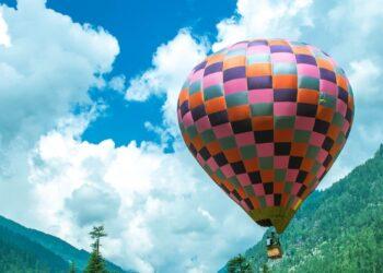 Hot air balloon Manali