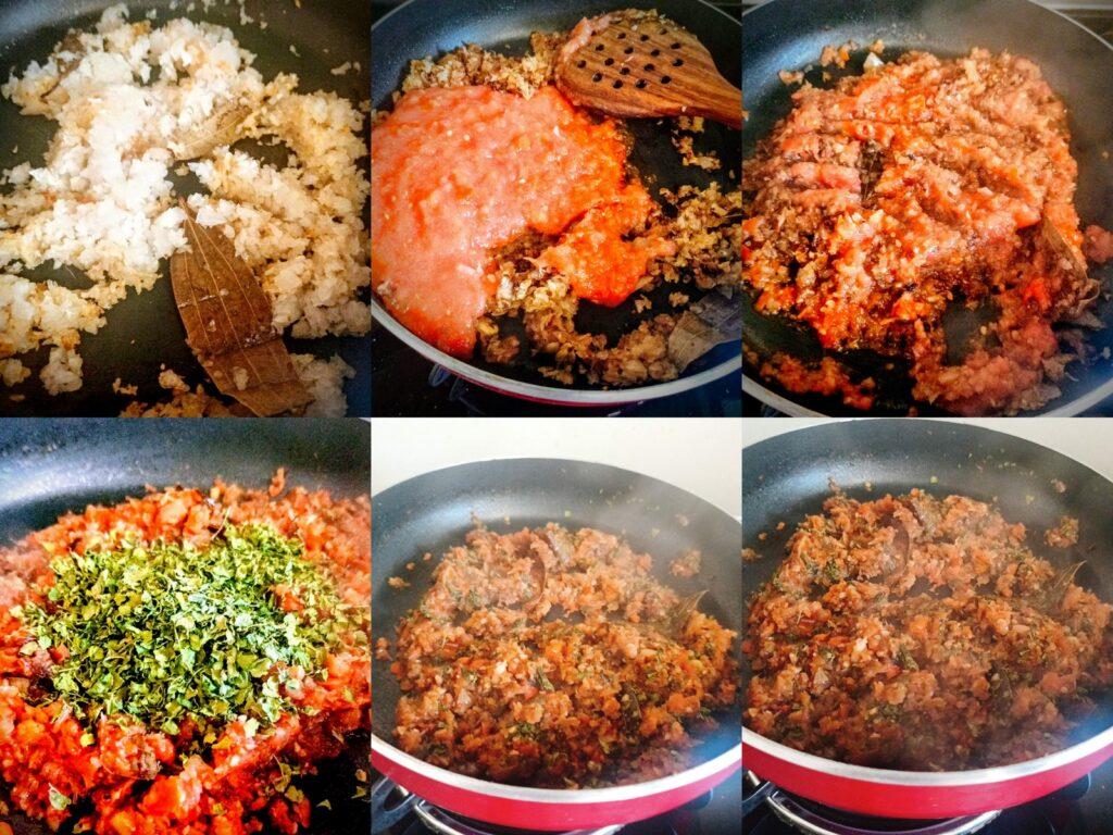 Methi Chicken Masala Rec Being cookedipe